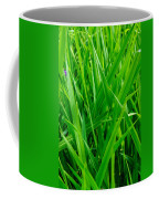 Tall Green Grass Coffee Mug