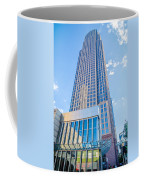 Tall Highrise Buildings In Uptown Charlotte Near Blumental Perfo Coffee Mug