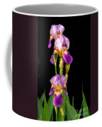 Tall Iris Coffee Mug