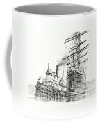 Tall Ship Assist Coffee Mug