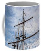 Tall Ship Masts Coffee Mug