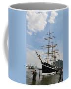 Tall Ship Mushulu At Penns Landing Coffee Mug