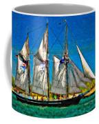 Tall Ship Paint  Coffee Mug