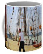 Tall Ship Sailor Duty Coffee Mug