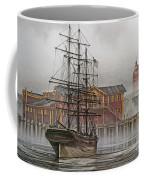 Tall Ship Waterfront Coffee Mug