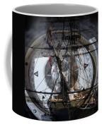 Tall Ship With Compass 2013 Coffee Mug