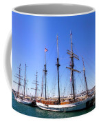 Tall Ships Big Bay Coffee Mug