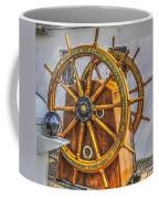 Tall Ships Wheel Coffee Mug