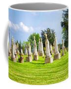 Tall Tombstones Panorama Coffee Mug by Thomas Woolworth