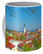 Tallinn From Plaza In Upper Old Town-estonia Coffee Mug