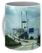 Talmadge Memorial Bridge In Savannah Georgia  Coffee Mug
