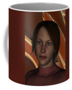 Tammy In A Red Dress Coffee Mug