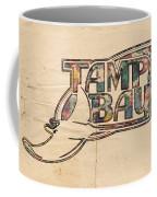 Tampa Bay Rays Poster Art Coffee Mug