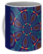 Tangerine And Turquoise Dream Coffee Mug