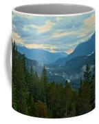 Tantalus Mountain Afternoon Landscape Coffee Mug