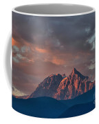 Tantalus Mountain Sunset - British Columbia Coffee Mug