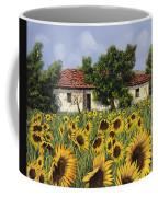Tanti Girasoli Davanti Coffee Mug