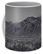 Taos In Black And White II Coffee Mug