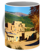 Taos Pueblo South In Autumn Coffee Mug