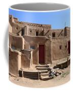 Taos Red Doors  Coffee Mug