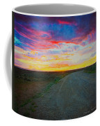 Taos Sunset On Rice Paper Coffee Mug