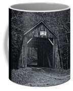 Tappan Covered Bridge Bw Coffee Mug
