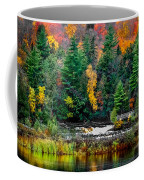 Taquamenon Lower Falls And Observation Deck. Coffee Mug