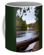 Taquamenon River And Lower Falls  Coffee Mug