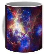 Tarantula Nebula 6  Coffee Mug by Jennifer Rondinelli Reilly - Fine Art Photography