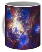 Tarantula Nebula Coffee Mug by Adam Romanowicz