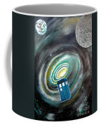 Tardis Coffee Mug by John Lyes