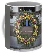 Tarpley Thompson Store Wreath Coffee Mug