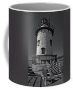 Tarrytown Lighthouse Bw Coffee Mug