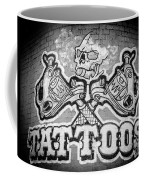 Tattoo Parlor Sign In Rough Neighborhood  Coffee Mug