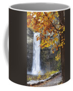 Taughannock Falls And Maple Coffee Mug