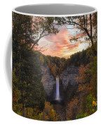 Taughannock Falls Autumn Sunset Coffee Mug