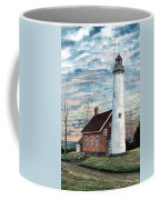 Tawas Point Light Coffee Mug
