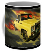 Taxicab Repair 1974 Gmc Coffee Mug by Blake Richards