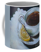 Tea And Lemon Coffee Mug
