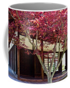 Tea House Thru The Maple Coffee Mug