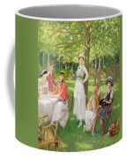 Tea In The Garden Coffee Mug