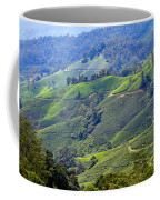 Tea Plantation In The Cameron Highlands Malaysia Coffee Mug