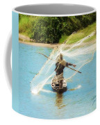 Teach A Man To Fish Coffee Mug