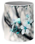 Teal Blossoms Coffee Mug