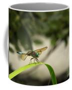 Teal Dragonfly Coffee Mug