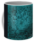 Teal Quilt Coffee Mug