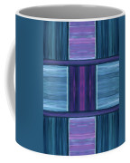 Teal Square Dreams Coffee Mug