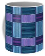 Teal Square Dreams Two Coffee Mug