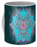 Teal Starfish Coffee Mug