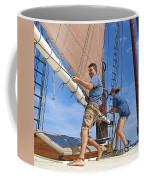 Teamwork On The Lake Coffee Mug